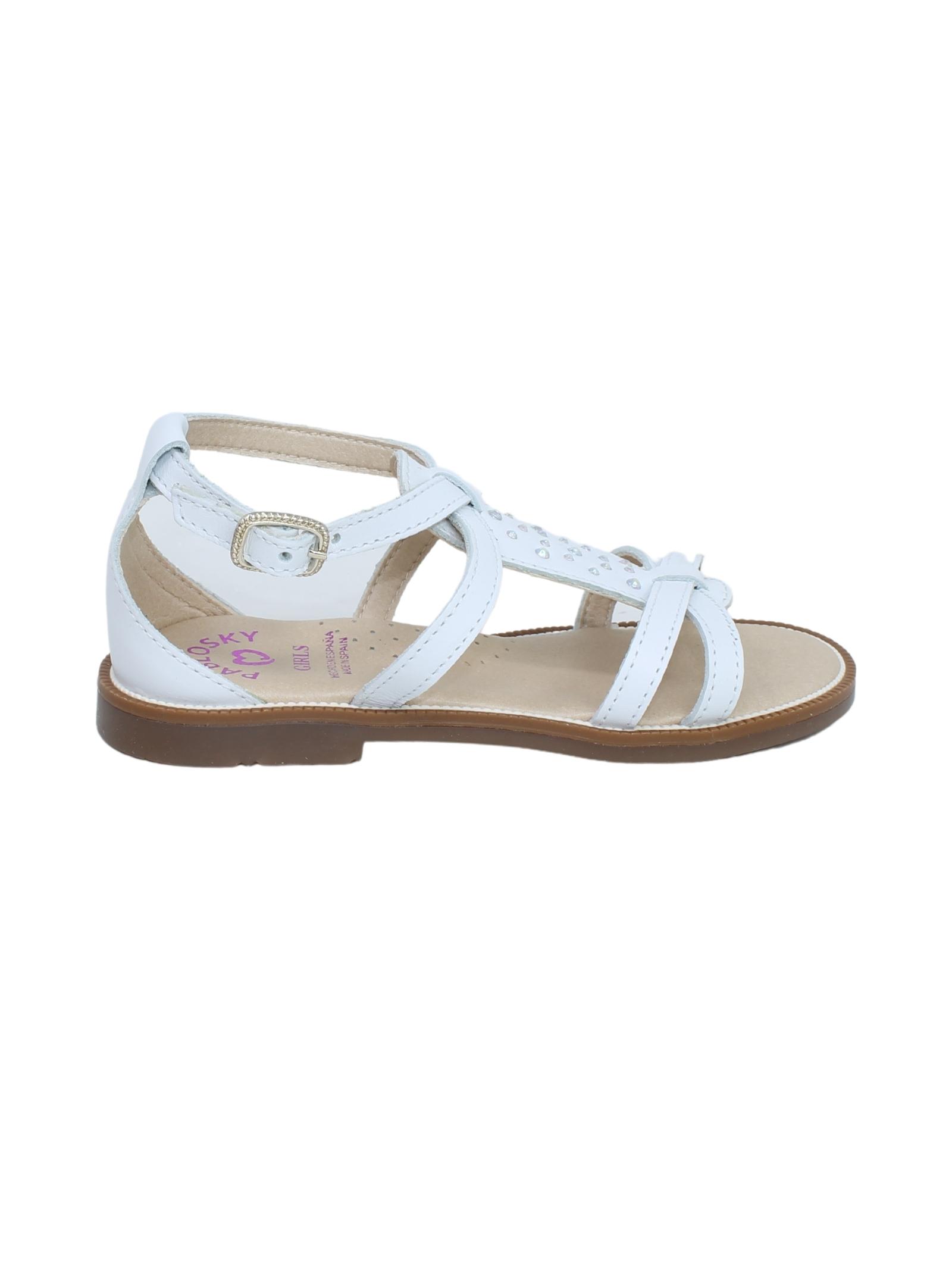 Sandalo Bambina Strass PABLOSKY | Sandali | 496700BIANCO