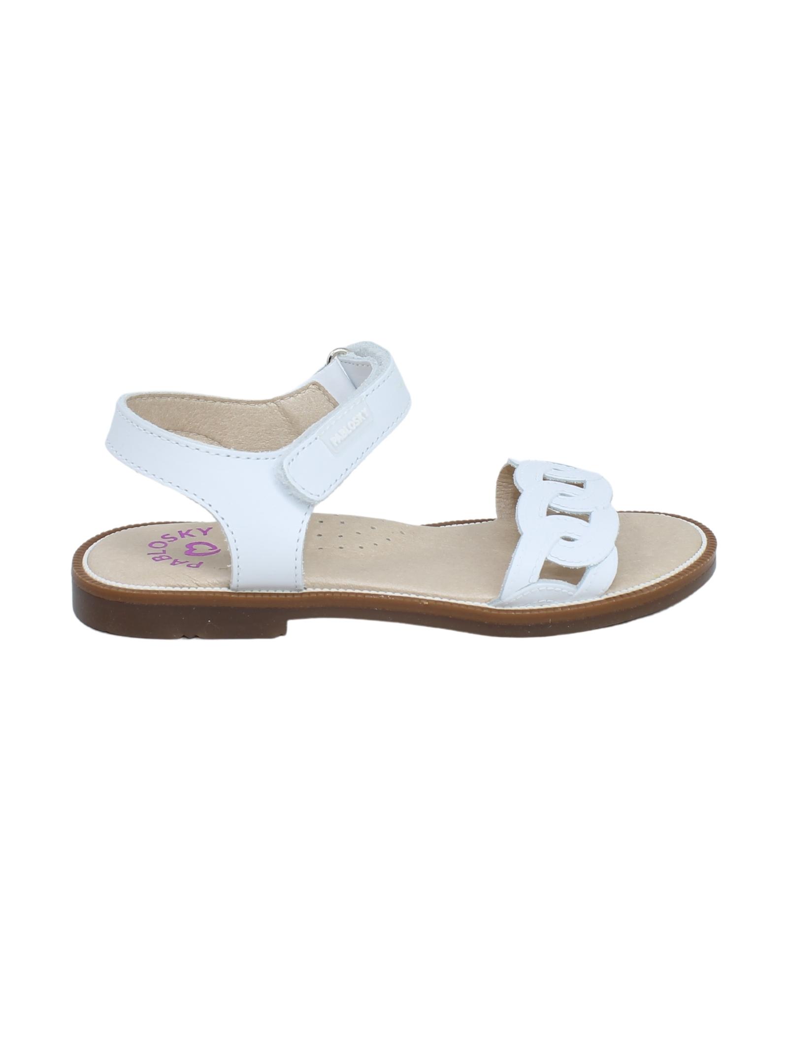 Sandalo Bambina Olimpio PABLOSKY | Sandali | 497300BIANCO