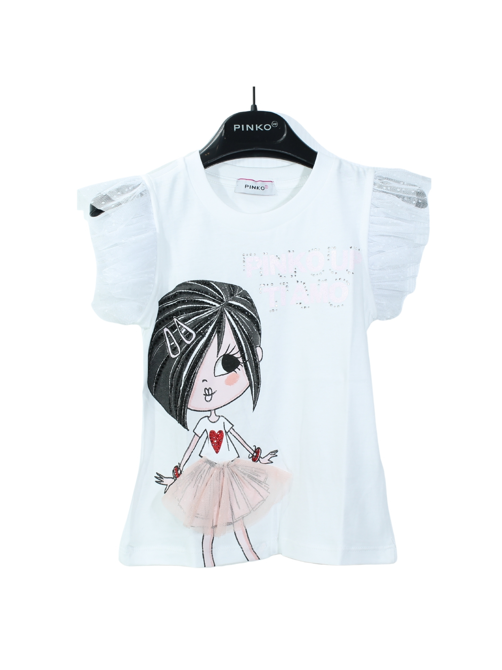 T-shirt Bambina Stampa PINKO UP | T-shirt | 027384002