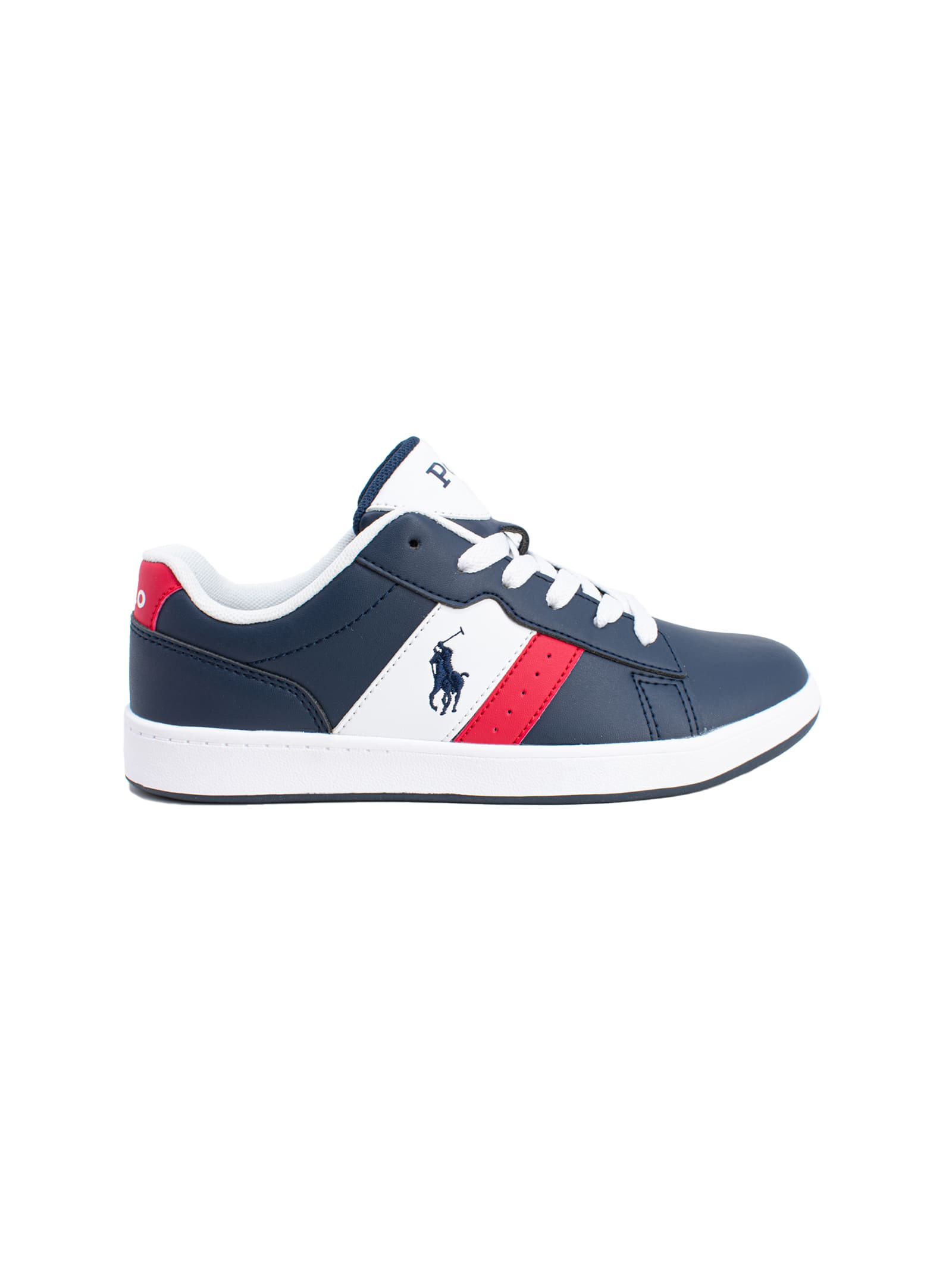 Sneaker Bambino English POLO RALPH LAUREN JUNIOR | Scarpe | 12RF102879NAVY