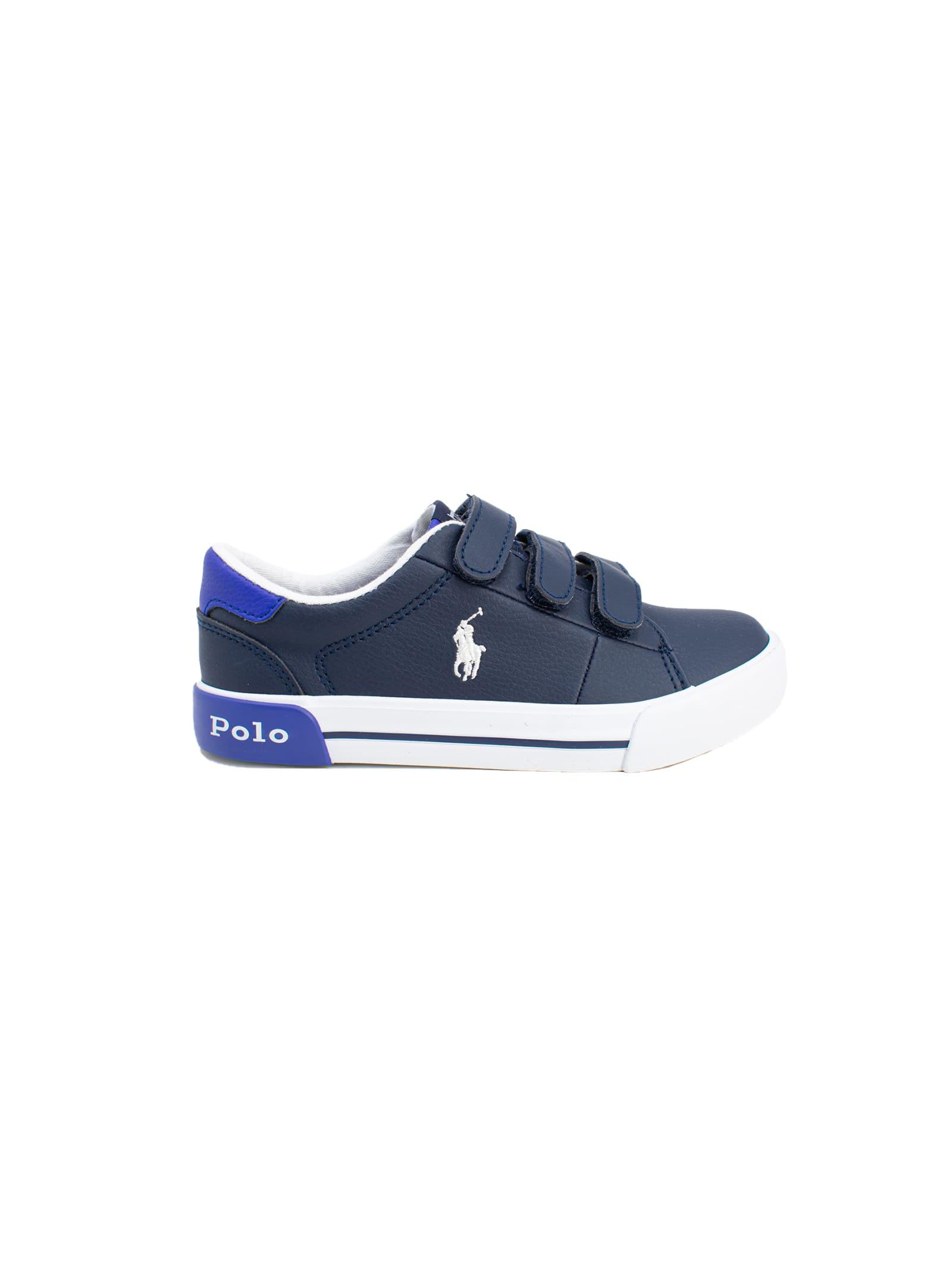 Sneaker Bambino Classic Blu POLO RALPH LAUREN JUNIOR | Scarpe | 12RF102974NAVY
