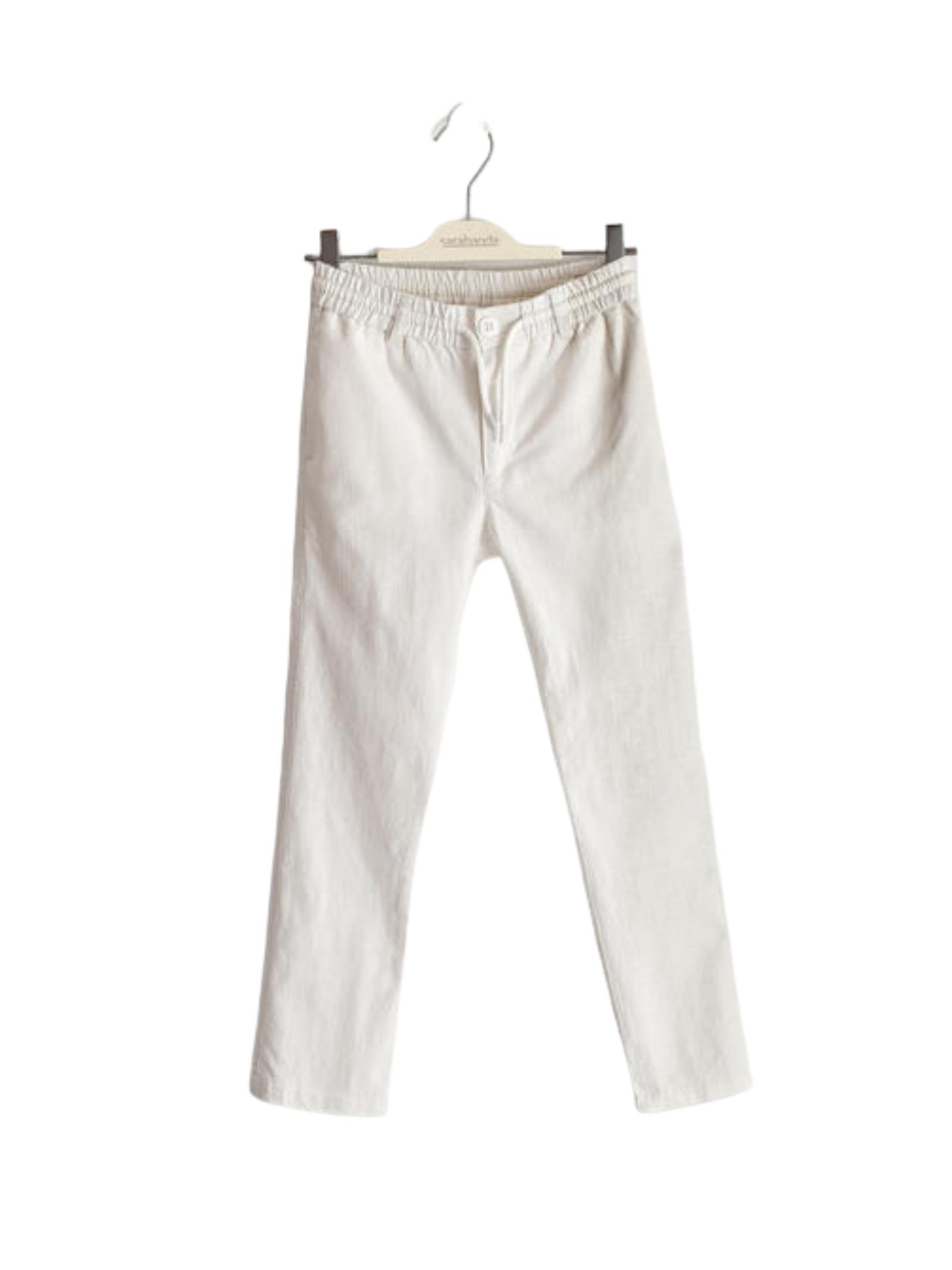 Pantalone White SARABANDA | Pantaloni | 02311000113