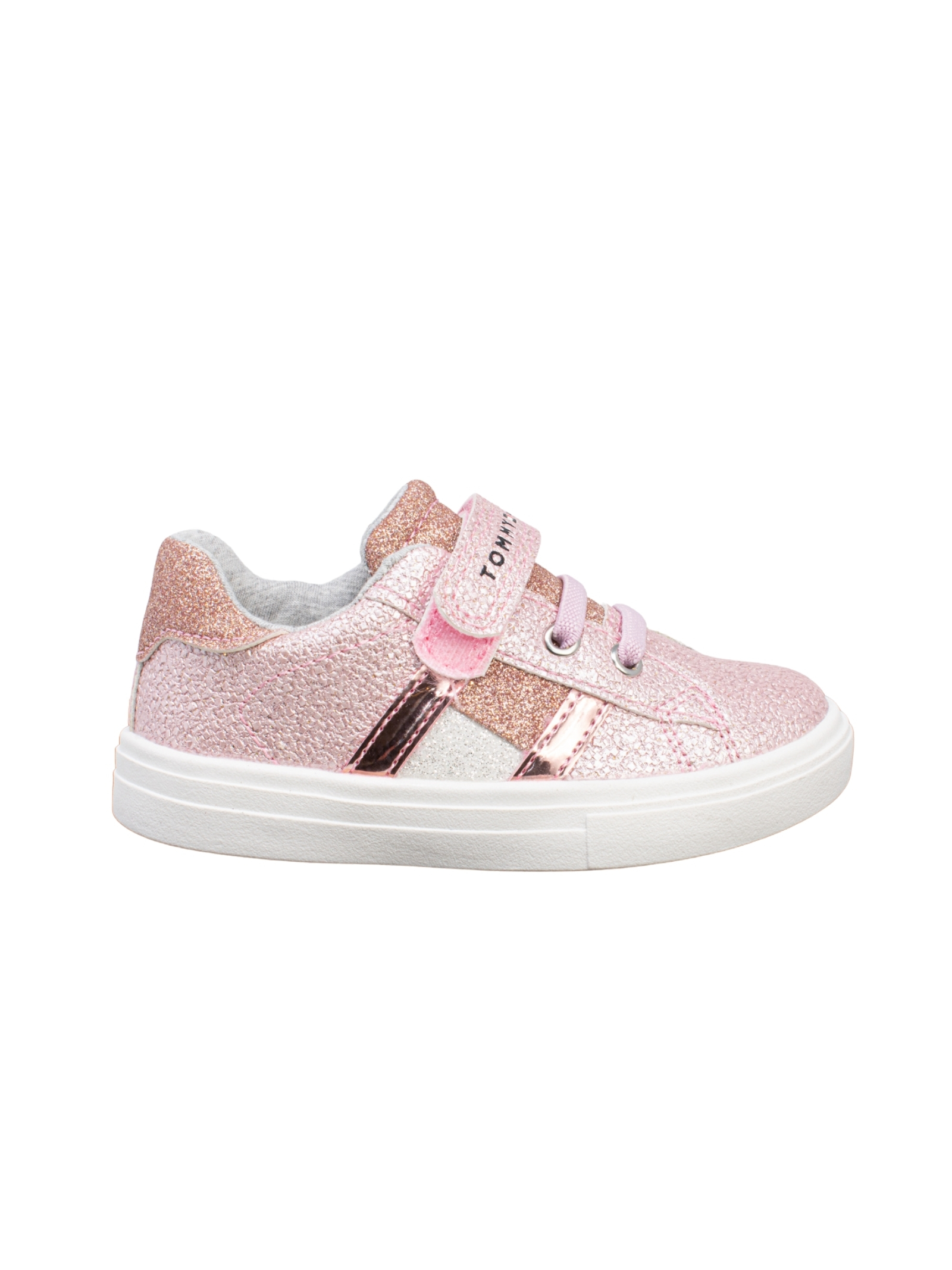 Sneakers Bambina Glitter Rosa TOMMY HILFIGER KIDS | Sneakers | T1A4310141160302ROSA