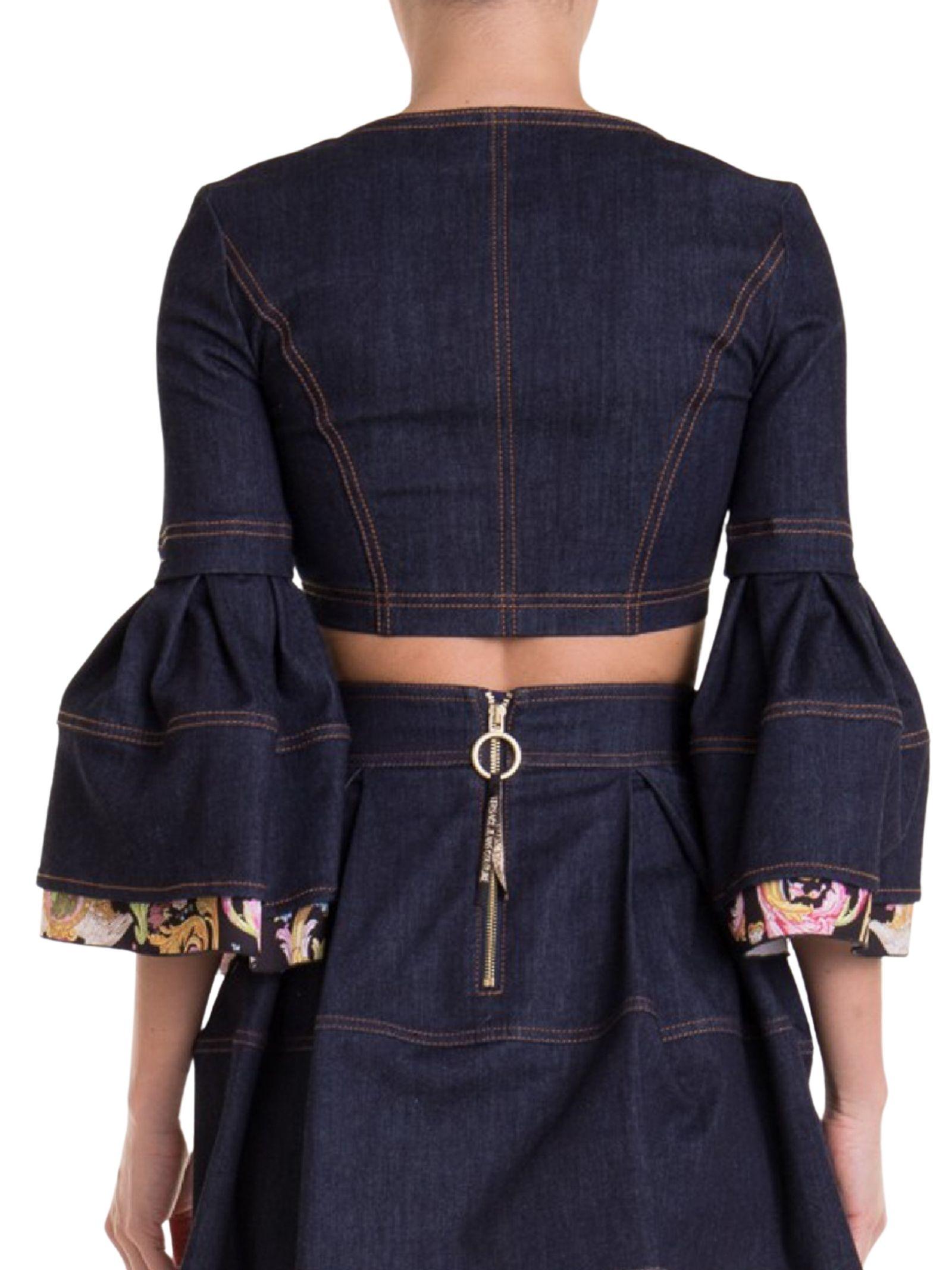 Blouson in denim VERSACE Jeans | D3HWA65ARARH00904