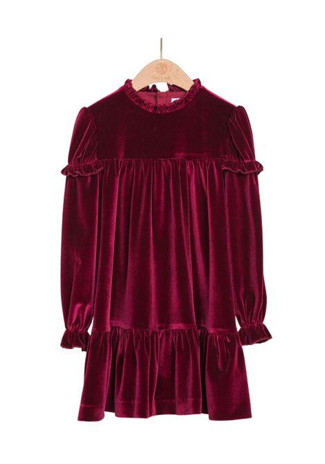 Burgundy Velvet Dress ABEL&LULA | Clothes | 5512060