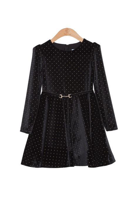 Velvet Dress With Studs ABEL&LULA | Clothes | 5515009