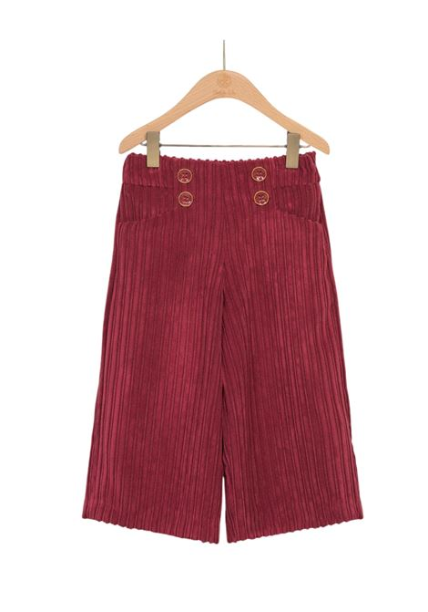 Ribbed Palazzo Trousers ABEL&LULA | Trousers | 5720067