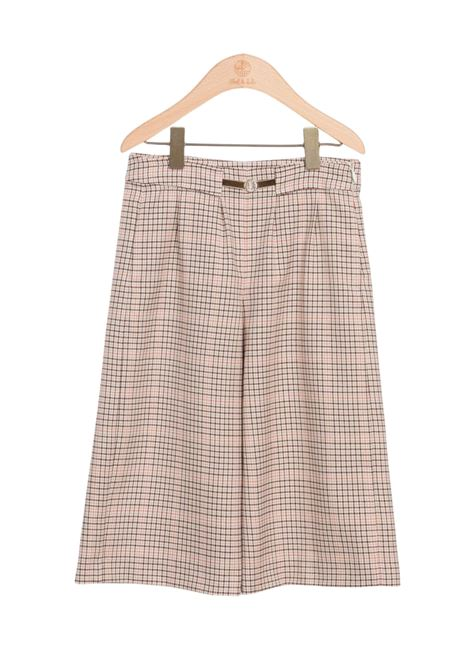 Checked Palazzo Trousers ABEL&LULA | Trousers | 5721008