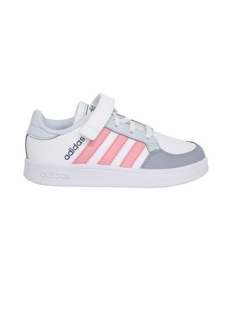 Sneakers Sport Pink White Bambina ADIDAS JUNIOR | Sneakers | FZ0107WHITE