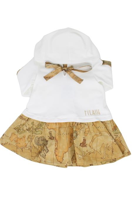 Little Girl Bow Dress ALVIERO MARTINI 1° CLASSE JUNIOR | Clothes | 2561V0555BEIGE