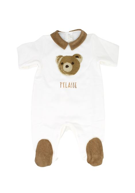 Baby Teddy Bear Whole Romper ALVIERO MARTINI 1° CLASSE JUNIOR | Rompers | 25R1027BEIGE
