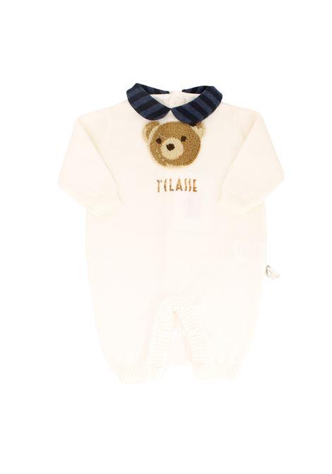 Whole Teddy Baby onesie ALVIERO MARTINI 1° CLASSE JUNIOR | Rompers | 25R1032BEIGE