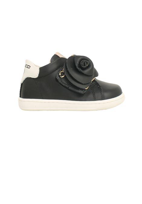 Sneakers Con Rosa Bambina BALDUCCI | Sneakers | CITA4852NERO