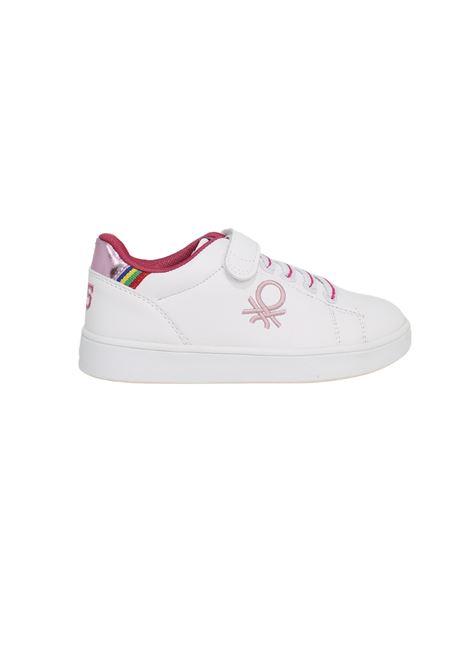 Sneakers White Lotus Bambina Benetton | Sneakers | BTK124008WHITE LOTUS