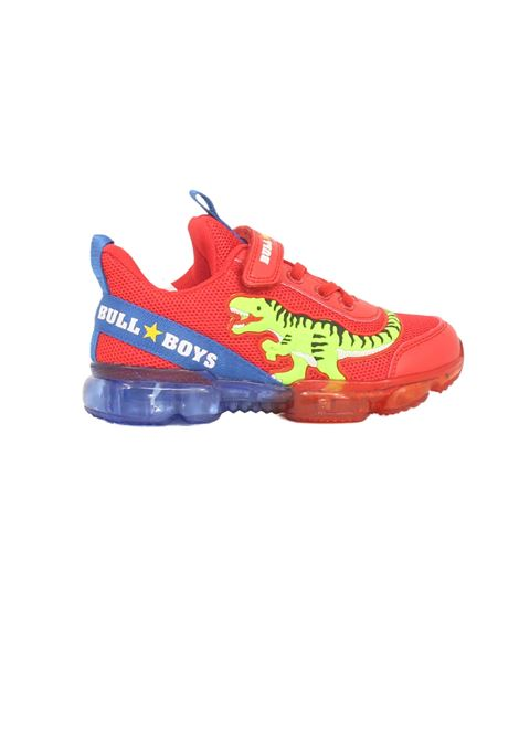 Sneakers Dinosauro Led Bambino BULL BOYS   Scarpe   BB2130ROSSO