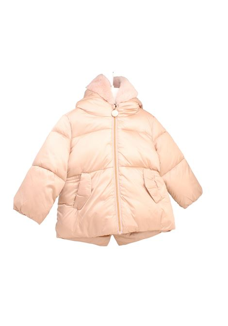 Killy girl jacket, in solid pink nylon. CANADIENS KIDS   Jackets   CAE0119599090229