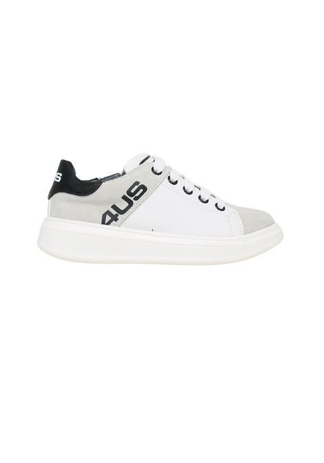 Sneakers Black White Bambino CESARE PACIOTTI | Sneakers | 4U003BIANCO
