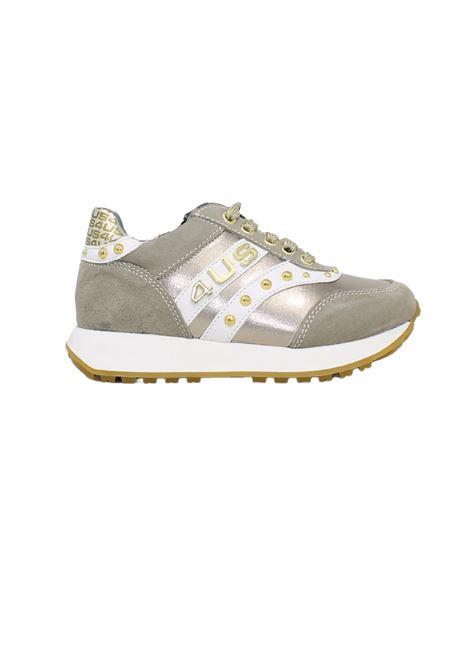 Studs Sneakers for Girls CESARE PACIOTTI | Sneakers | 4U011BEIGE