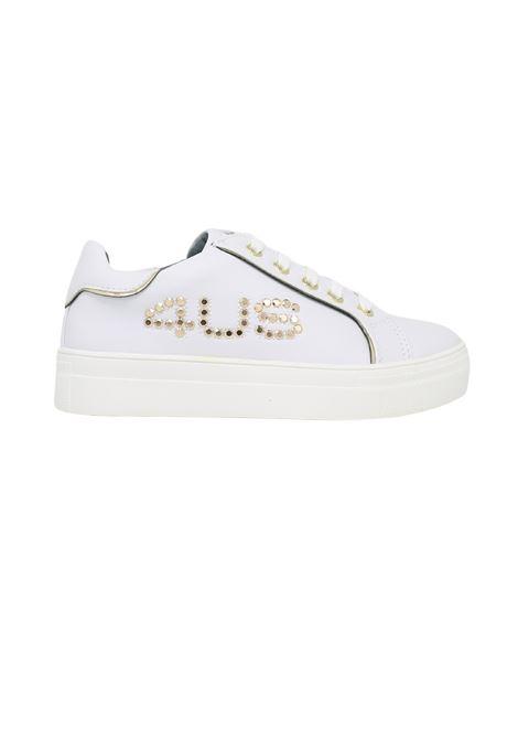 Low Sneakers Studs Girl CESARE PACIOTTI | Sneakers | 4U064BIANCO
