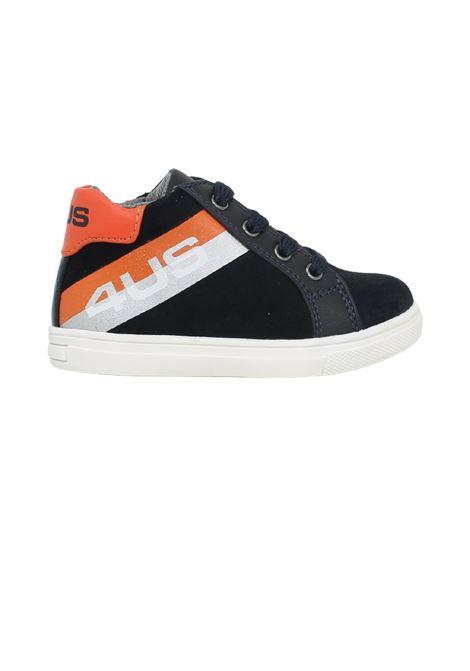 Sneakers Blu e Arancio Bambino CESARE PACIOTTI | Sneakers | 4U141BLU