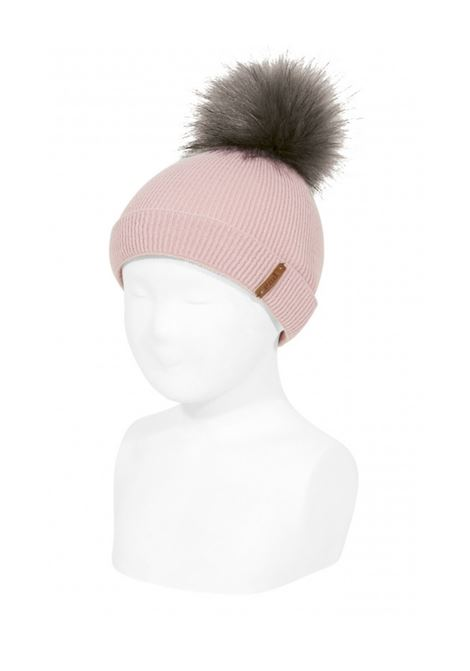 Ribbed Pompon Hat Unisex CONDOR | Shirt | 50022011526