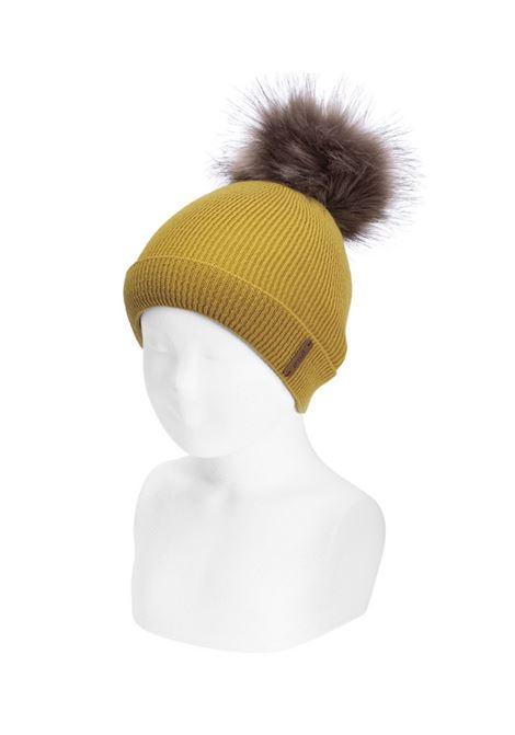 Ribbed Pompon Hat Unisex CONDOR | Shirt | 50022011629