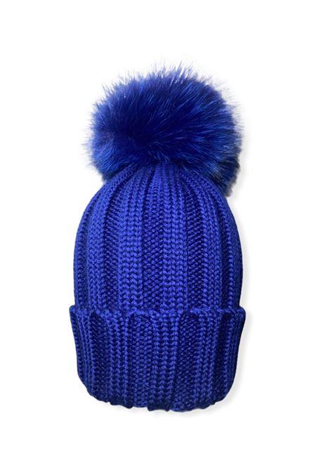 Baby Pompon Hat CUFFIE REGINA | Shirt | 20599BLU