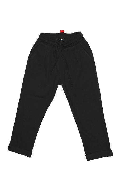 DANIELE ALESSANDRINI JUNIOR | Trousers | 1231P1086NERO