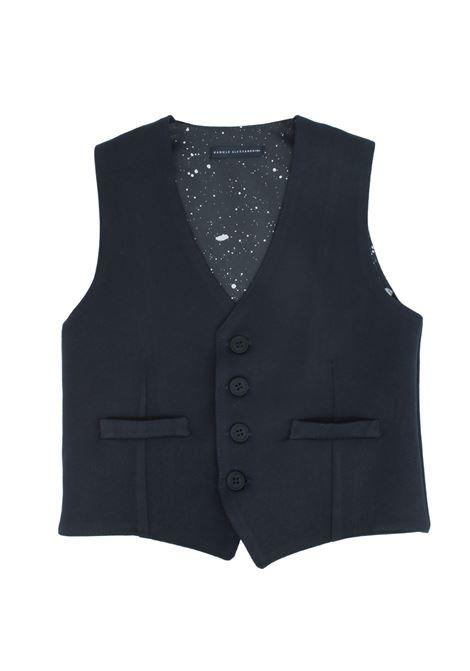 Elegant Baby Vest DANIELE ALESSANDRINI JUNIOR | Gilet | 1291B0781BLU