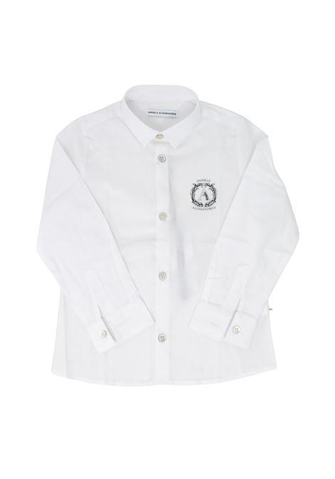 Camicia Elegant White Bambino DANIELE ALESSANDRINI JUNIOR | Camicie | 1291C0735BIANCO