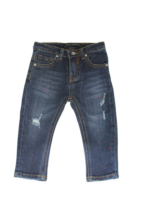 Jeans Blu-Red Bambino DANIELE ALESSANDRINI JUNIOR | Pantaloni | 1291D0755BLU