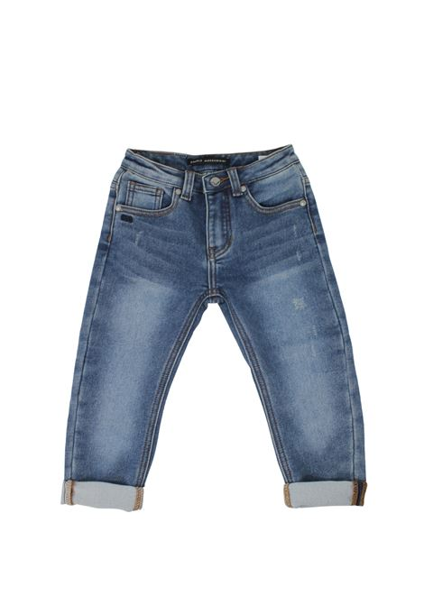 DANIELE ALESSANDRINI JUNIOR | Trousers | 1291D0757BLU