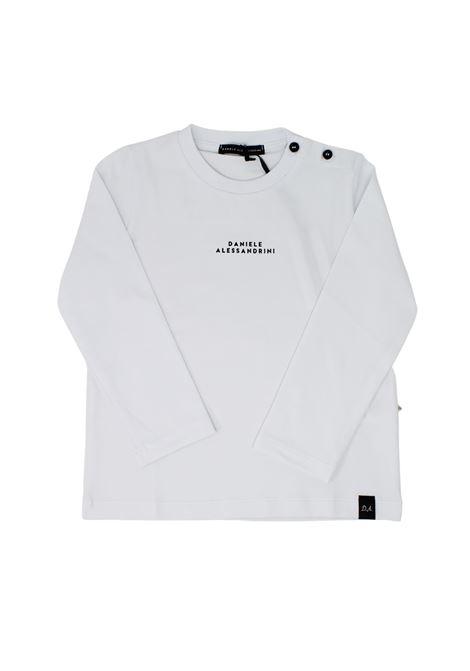 T-shirt Focus Bambino DANIELE ALESSANDRINI JUNIOR | Maglie | 1291M0743BIANCO