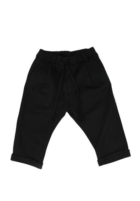 DANIELE ALESSANDRINI JUNIOR | Trousers | 1291P0734NERO