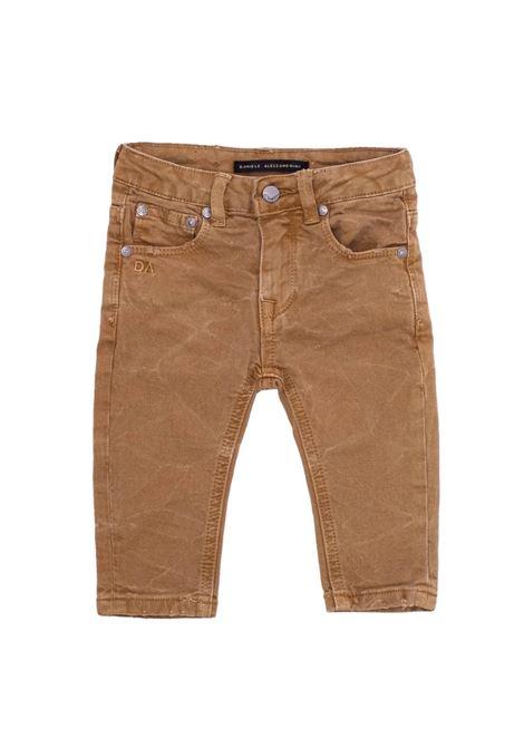 DANIELE ALESSANDRINI JUNIOR | Trousers | 1291P0760CAMMELLO