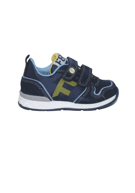 Navy Sport Child Sneakers FALCOTTO   Sneakers   0012014924050C02NAVY