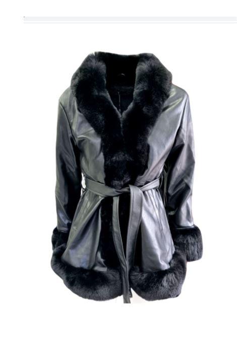 Fashion Faux Fur Coat for Girl FUN&FUN | Coats | FNJCT8998NERO