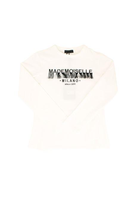 Mademoiselle Girl T-shirt FUN&FUN | T-shirt | FNJTS8925BIANCO