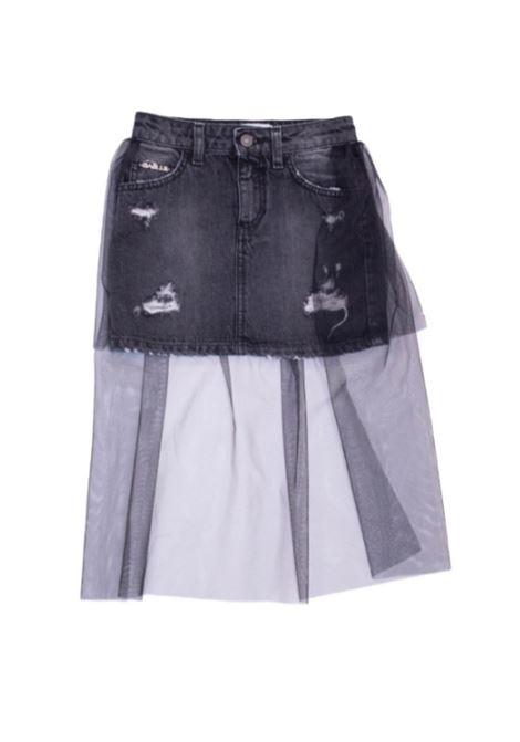 Denim Girl skirt GAËLLE PARIS KIDS   Skirts   2741D0321NERO