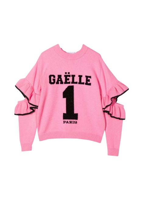 Maglia Pink Rouche Bambina GAËLLE PARIS KIDS | Maglie | 2741W0320ROSA