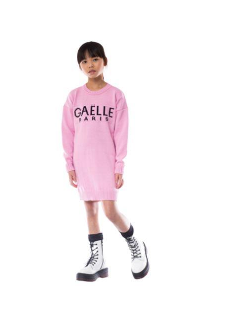 Pink Girl maxi dress GAËLLE PARIS KIDS | Clothes | 2741W0424ROSA