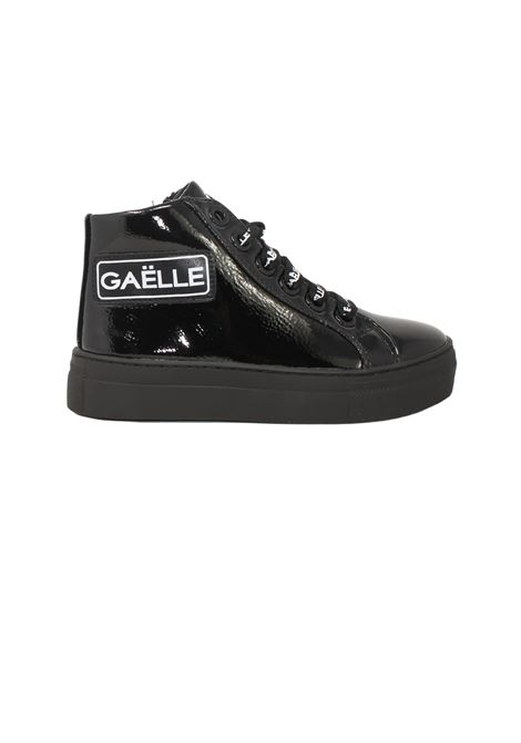 Patent girl sneakers GAËLLE PARIS KIDS   Sneakers   G1100NERO