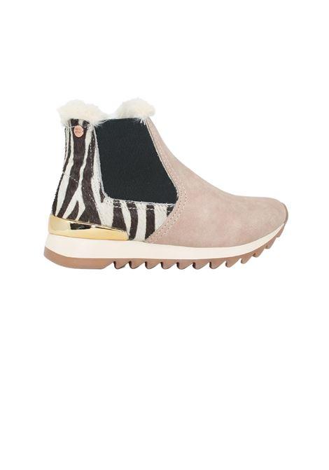 Ketzin Slip on Girls Boots GIOSEPPO KIDS | Boots | 64201ZEBRA