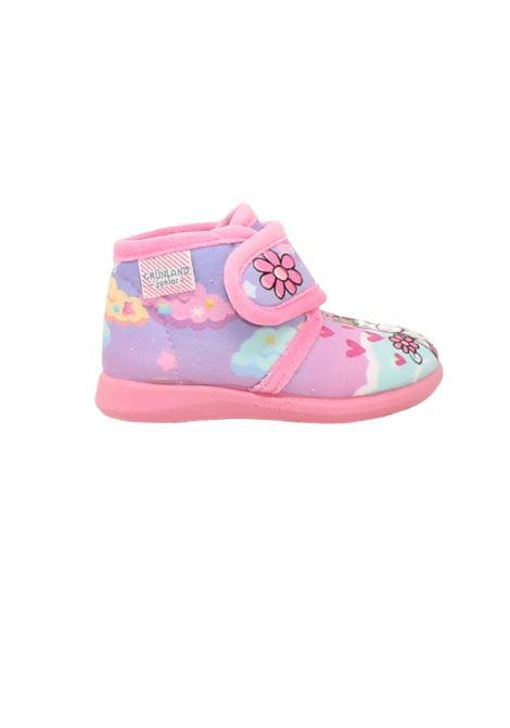Fantasy Unicorn Baby slippers GRUNLAND JUNIOR      0667RROSA