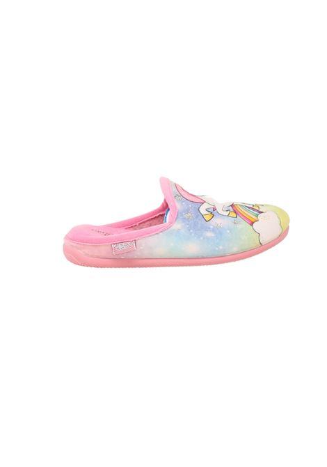 Unicorn Star Girl Slipper GRUNLAND JUNIOR   Flip Flop   2403ROSA