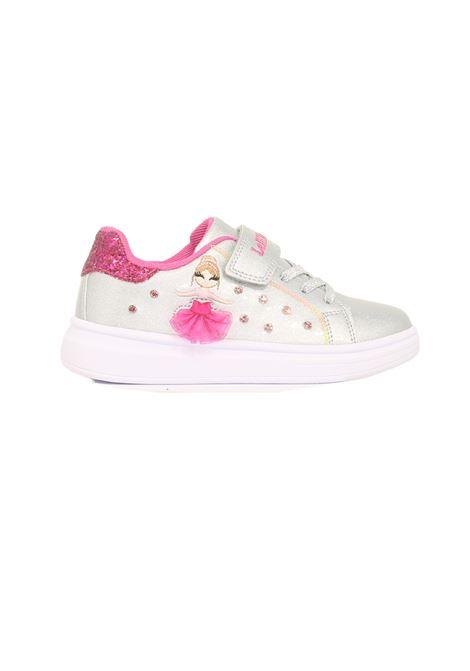 Sneakers Brillantini Bambina LELLI KELLY   Scarpe   LK4826ARGENTO