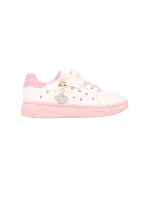 Sneakers Brillantini Bambina LELLI KELLY   Scarpe   LK4826BIANCO/ROSA