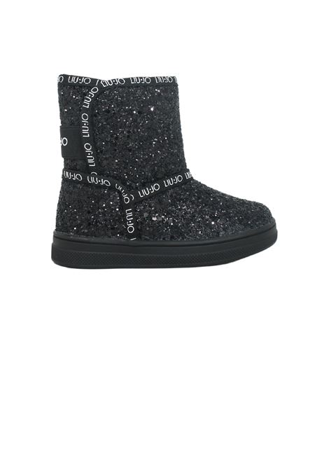 Boots with sequins for girls  LIU-JO JUNIOR | Boots | 4F1327TX00722222