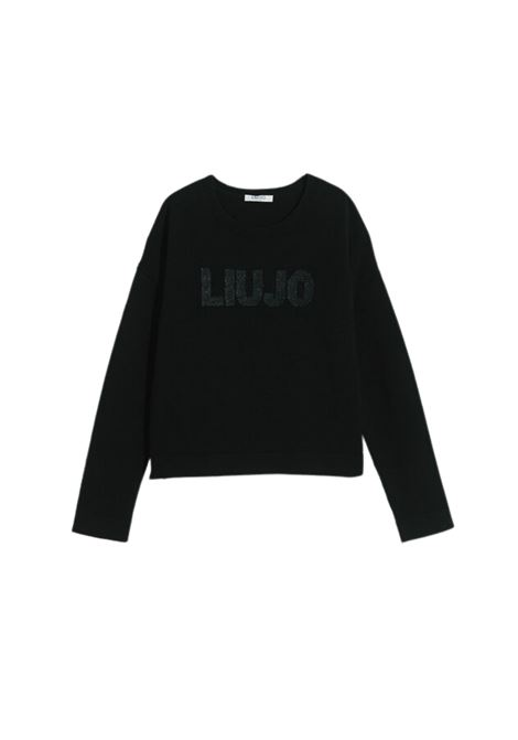 Girl's Glitter Sequins Sweater LIU-JO JUNIOR      GF1154MA20J22222
