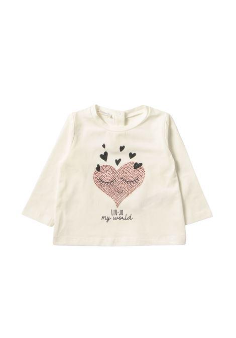 Sleep Heart Sweater for Girls LIU-JO JUNIOR      KF1072J0088U9325